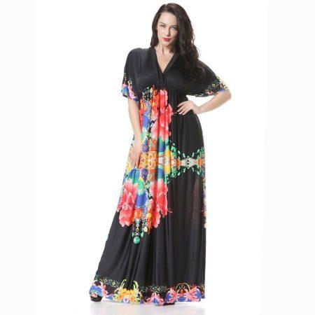 Платья больших размеров из Турции и Италии: для полных женщин из натуральных тканей, шелка