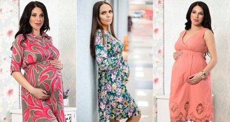 1d3537d4f4c321 Платье свободного стиля. Такой фасон подойдет для создания образа на  каждый. Платье имеет свободный крой, поэтому будущей мамочке в таком платье  будет ...
