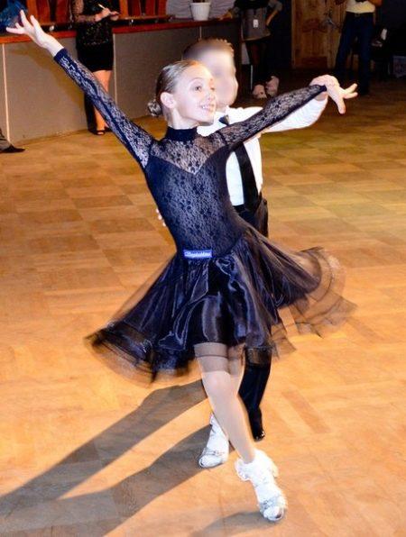 Модели платьев для бального танца