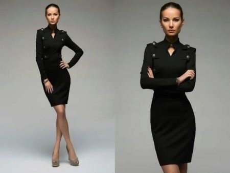 cc25b0164f26bab Черное платье-футляр (65 фото): с чем носить, модные образы ...
