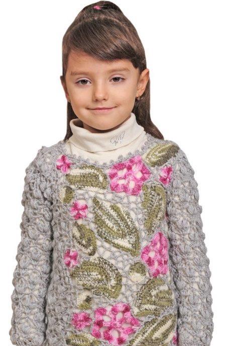 свитер для девочки и подростков 71 фото в школу 4 6 7 8 9