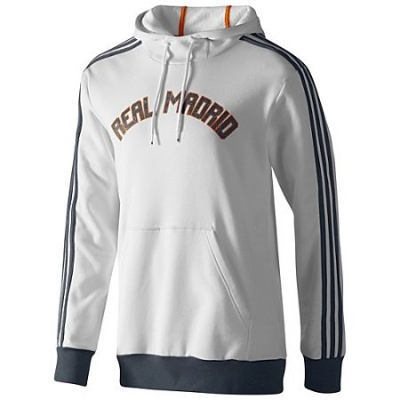 Adidas sweatshirts, sweaters and sweatshirts with the Real Madrid emblem are made for dedicated fans. Models are made of soft, pleasant materials and look ...