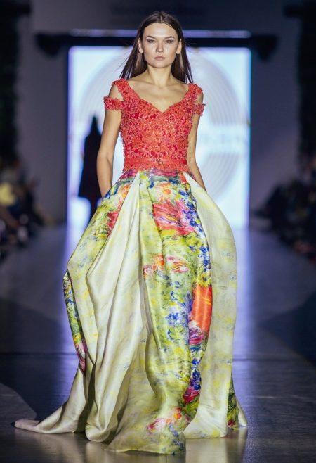 0e169b836e8 В удивительной коллекции платьев от дизайнера Оксаны Мухи гармонично все   фасоны