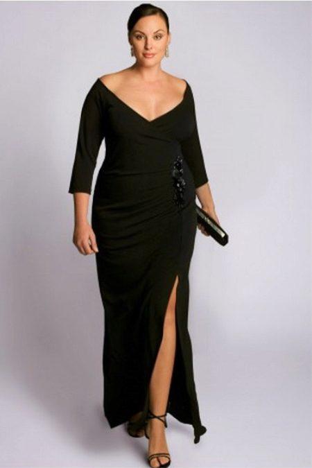 faa122a5240 Вечерние платья с длинным рукавом (56 фото)  длинные