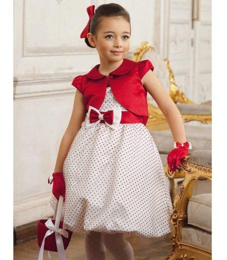 Болеро для детского платья