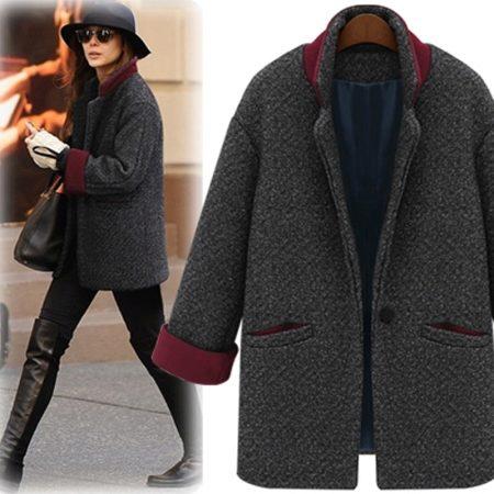 Женское пальто - букле - 2018 (65 фото): из буклированной ткани, с чем носить, отзывы