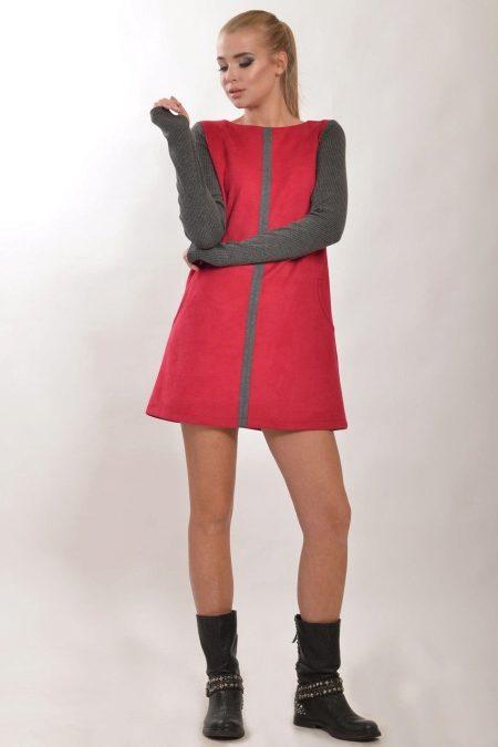 e374f1d9b37 ... особенно если платье А-силуэта с открытыми плечами. Если вы стремитесь  создать контраст в образе