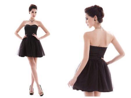 Черные красивые платья картинки