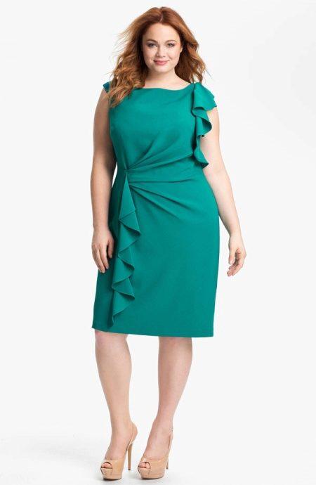 Платье осение для зрелых женщин