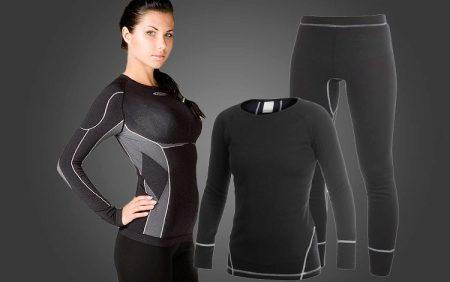 белье для фитнеса женское компрессионное спортивное