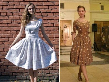Платья в стиле 40 х годов