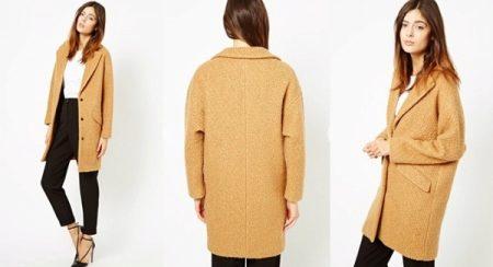b916215fb37 Пальто-кокон 2019 (116 фото)  с чем носить