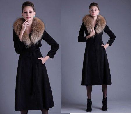 Шерстяное пальто (115 фото) 2018: женское, из английской шерсти, с капюшоном, без подклада, легкое