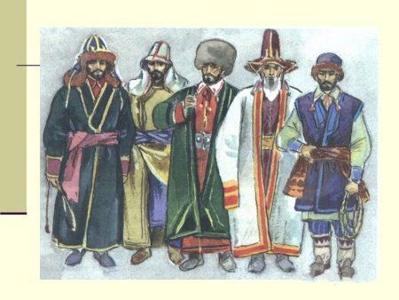 Башкирский женский национальный костюм