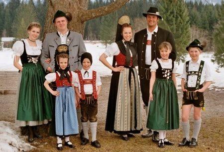 фото национальный костюм немцев