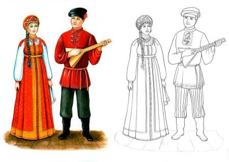 фото русские костюмы