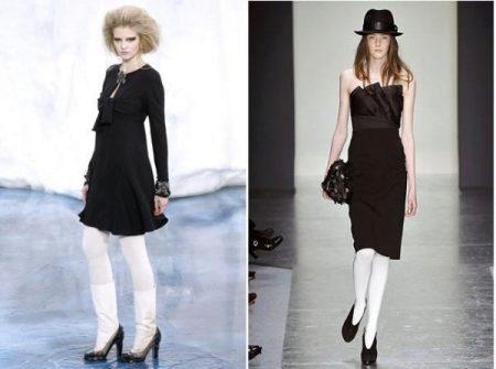 ceee7cbd9dc Какие колготки одеть под черное платье и черные туфли (94 фото)  с ...