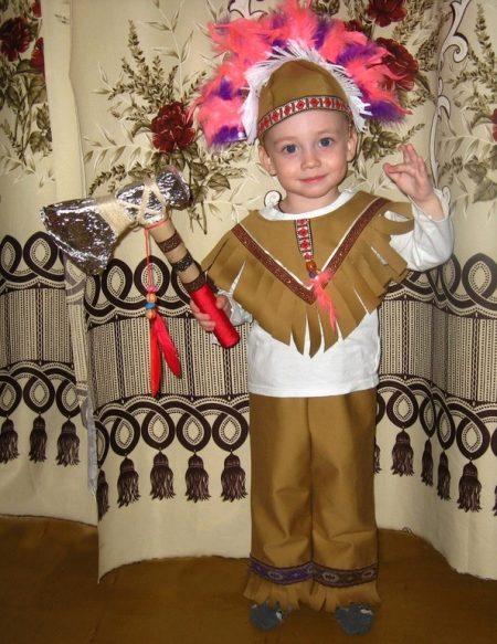 Костюм индейца своими руками - Семейный досуг 11