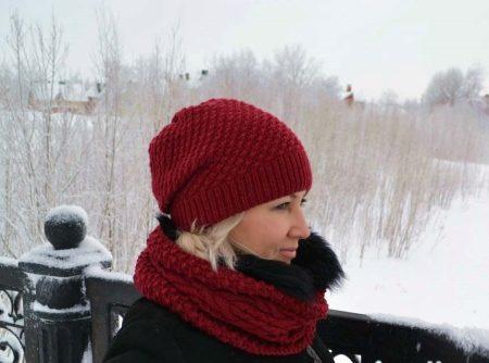 узоры для шапок 94 фото плетенка жемчужным соты рис городские
