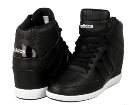 adidas super wedge bianche