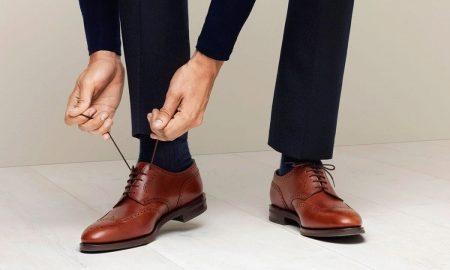 Броги мужские (80 фото): высокие ботинки и туфли-броги, обувь на толстой подошве, коричневые, черные и синие