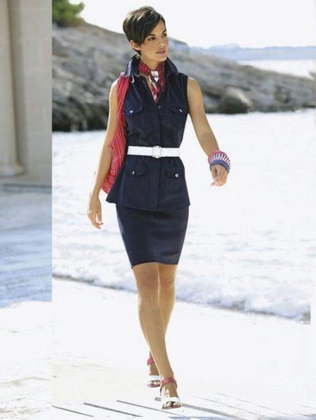 Морской стиль в одежде (63 фото): модели для женщин, мужчин и детей, молодежная мода