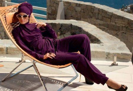7332a1b810bf6 Мусульманские купальники из последнего модного сезона включают в себя  несколько элементов, которые можно купить как по отдельности, так и в  комплекте.
