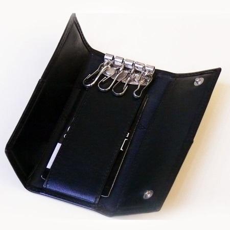 Мужская ключница: карманная для мужчины, для длинных ключей, модели на ремень
