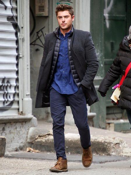 Мужские коричневые ботинки (34 фото): зимние, светло-коричневого цвета, на шнуровке, темно-коричневые