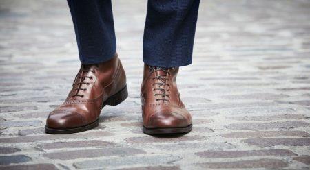 Мужские оксфорды (57 фото): зимние туфли, обувь, с чем носить высокие красные, коричневые и черные ботинки