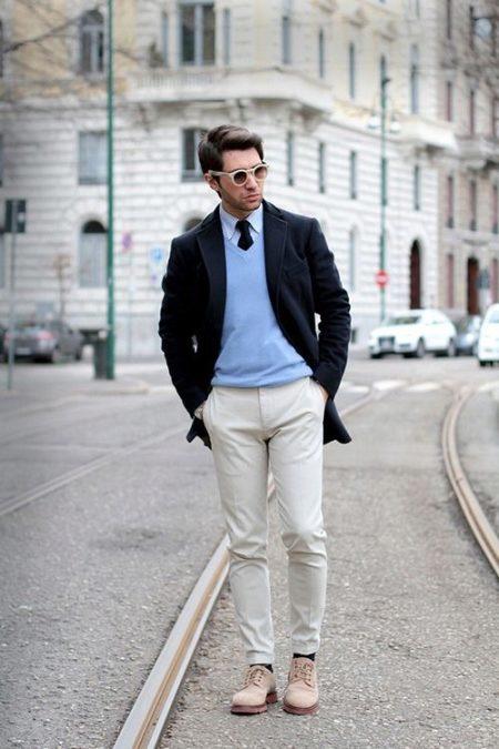 Мужские топсайдеры (72 фото): с чем носить туфли и зимние ботинки топ сайдер