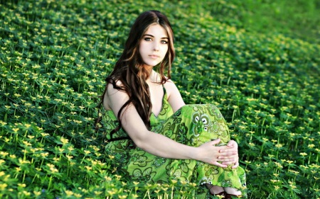 grün beruhigt augen