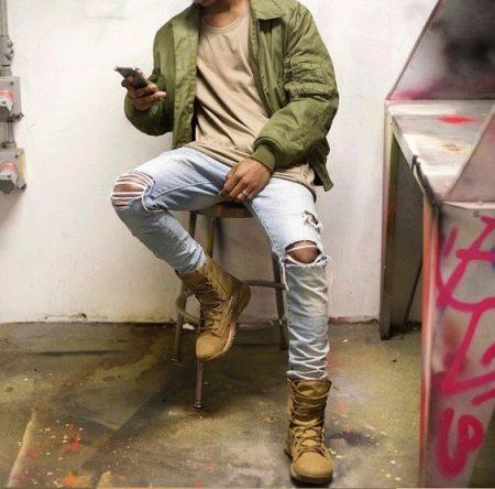Зимние мужские ботинки Найк (20 фото): модели на меху