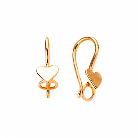Золотые серьги без камней (48 фото): в моде крупные сережки без вставок, модели из желтого и белого золота