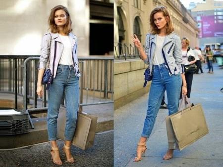 23c1017fb55 Отдайте предпочтение моделям прямого кроя классического синего цвета.  Легкие потертости также не возбраняются. Также идеальным вариантом являются  джинсы с ...