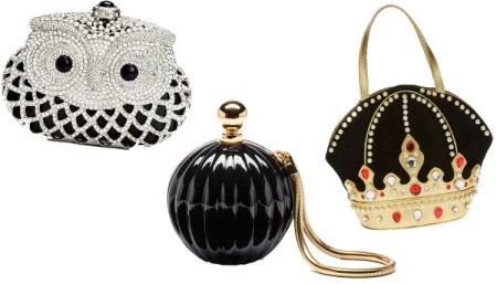 1822098620e9 Еще один распространенный вариант – черный клатч необычной формы. Подобные  сумки отлично впишутся в молодежный стиль.
