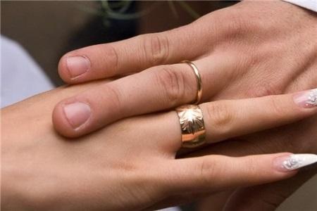 Кольцо на правом мизинце гей