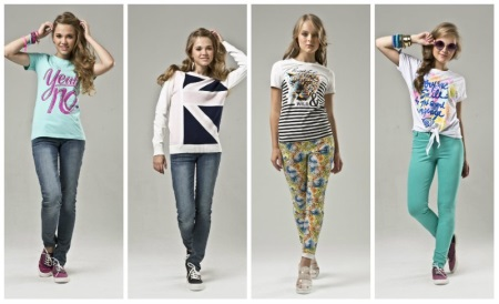 Одежда для девочек-подростков (116 фото)  мода 2019 d8590aba26956