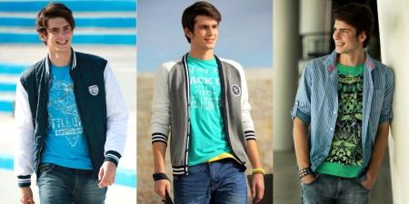 0617b1dce12d Именно в этот период у парней появляется первый интерес к своему гардеробу.  Одежда для мальчиков-подростков ...