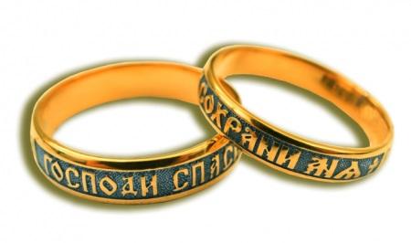 Православные кольца (51 фото): женское церковное колечко - Спаси и Сохрани - с молитвой