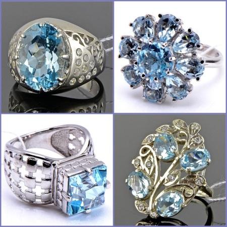 Серебряные кольца с камнями (81 фото): женские с черным лунным самоцветом в серебре, с зеленым и красным камнями