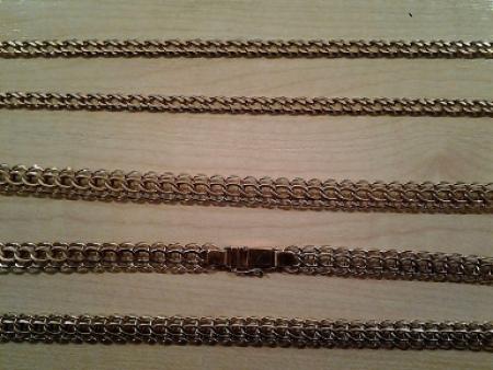 Плетение бисмарк золото фото цепочка