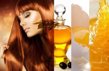 рецепт маска для волос из яйца и меда