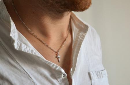 Мужская цепочка на шею (78 фото): как выбрать длину цепи для мужчин