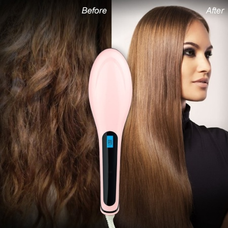Расческа выпрямитель Fast Hair Straightener (22 фото): отзывы об электрическом устройстве для выпрямления волос