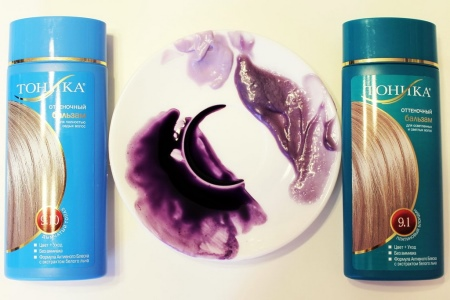 Тоник для волос (60 фото): фиолетовый, синий и другая палитра цветов оттеночного тоника, отзывы