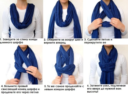 Как завязать шарф на пальто (74 фото): как красиво завязать шарф на пальто с воротником, без воротника и с капюшоном