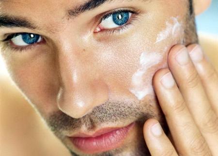 Мужской омолаживающий крем лица