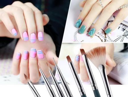 Кисти для гель-лака (39 фото): кисточка для нанесения маникюра гелем, как очищать и чем промывать после рисования на ногтях