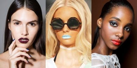Разработка макияжа модели